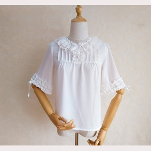 Orchid Lane Lace Collar Lolita Blouse (OL19)