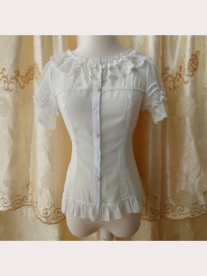 Orchid Lane Slim Cut Lolita Blouse (OL20)