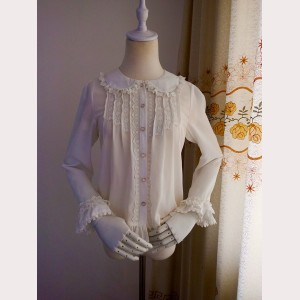 Orchid Lane Dolly Princess Chiffon Lolita Blouse (OL6)