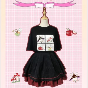 Souffle Song Rabbit Lolita T-Shirt (SS981)