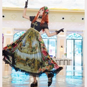 Souffle Song Disputation of the Holy Sacrament Classic Lolita Dress OP  (SS984)
