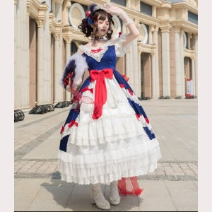 Souffle Song Eternal Glory Classic Lolita Dress OP (SS991)