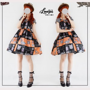 Souffle Song Dissecting A Rabbit Lolita Dress JSK (SS992)