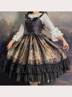 Mucha Classic Lolita dress JSK by Souffle Song (SS1011)