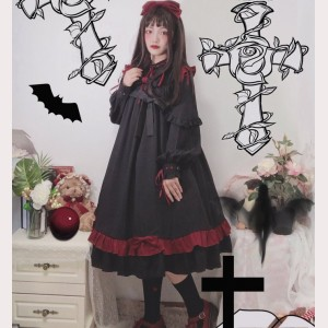 The Fail Of The Rebel Angels Lolita dress OP by Souffle Song (SS1013)
