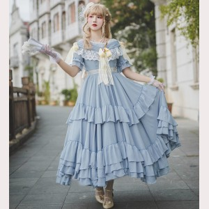 Alex Vintage Lolita dress OP by Souffle Song (SS1014)
