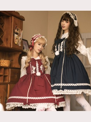 Rumney Doll Lolita dress JSK by Souffle Song (SS1019)