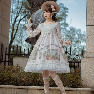 Fairy Story Lolita dress OP by Souffle Song (SS1020)