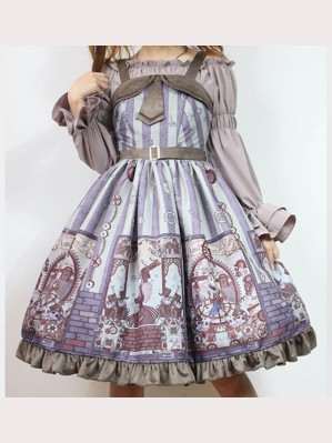 Souffle Song Alchemist Cat Lolita dress JSK (SS913)