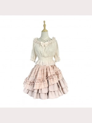 Souffle Song Sweety Dots Lolita Blouse (SS923)