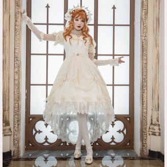 Souffle Song Yurisa Chapel Train Lolita dress (SS927)