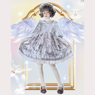 Souffle Song Minstrel Girl Lolita dress OP (SS929)