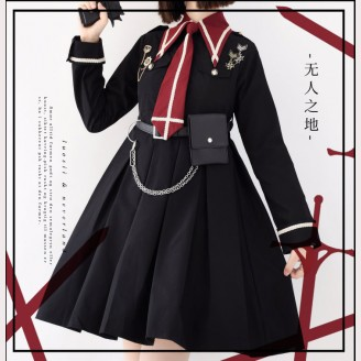 Souffle Song Niemandsland Military Lolita Dress OP (SS937)