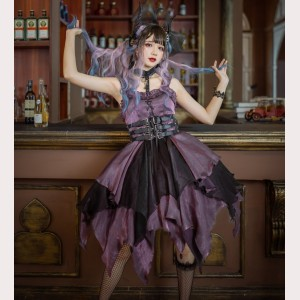 Souffle Song Seven Deadly Sins - Luxuria Gothic Lolita Dress JSK - Purple (SS946)