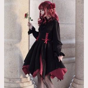 Souffle Song Pillar Of Lamer Gothic Lolita dress JSK (SS948)