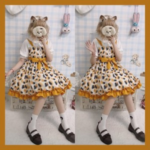 Souffle Song Calico Cat Lolita dress JSK (SS951)