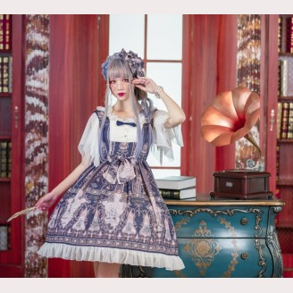 Souffle Song Earl of Monte Criste Rabbit Lolita dress JSK (SS955)