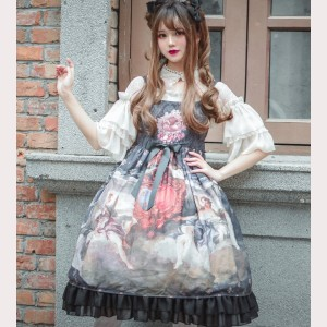 Souffle Song Shield Of The Holy Light Lolita dress JSK (SS958)