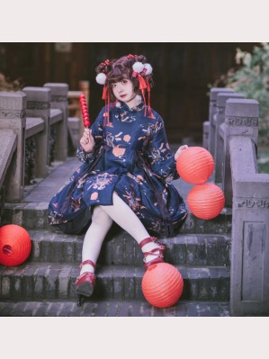 Souffle Song Chinese Auspicious Lolita dress OP (SS971)