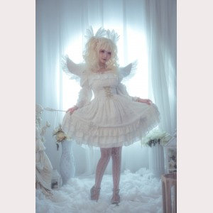 Souffle Song Wishing Stars Lolita dress JSK (SS901)