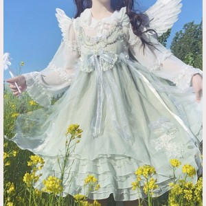 Souffle Song Ningfu Fairy Lolita dress JSK (SS902)
