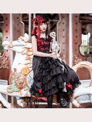 Seven Deadly Sins - Gluttony Gothic Lolita dress JSK by Souffle Song (SS1006)