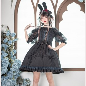 Souffle Song Indulgence Gothic Lolita dress JSK (SS1009)
