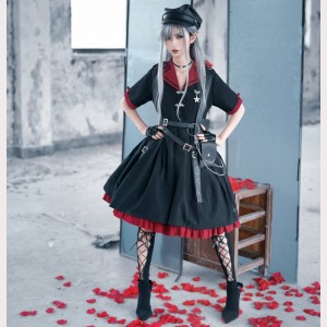 Souffle Song Military Lolita Style Dress OP (SS997)