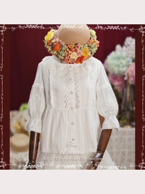 Tiny Garden After Lunch Garden Classic Lolita Blouse (TG06)