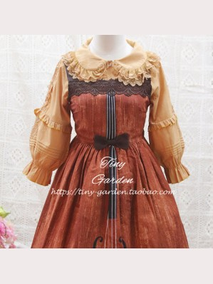 Tiny Garden Robin Double Lace Lolita Blouse (TG12)