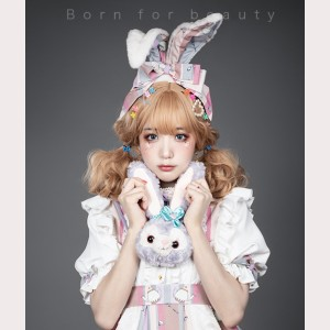 Alice Sweet Lolita Bunny Ears Headband KC (YB02)