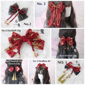 Wa Lolita Matching Hair Accessories (LG01)