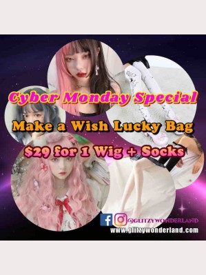 Cyber Mondey Special Lucky Bag! Wig + Socks! Make a Wish! (CYB20)