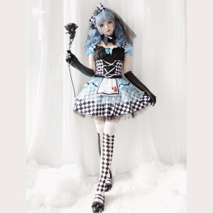 Halloween Maid Dress 5pc Set (HA34)