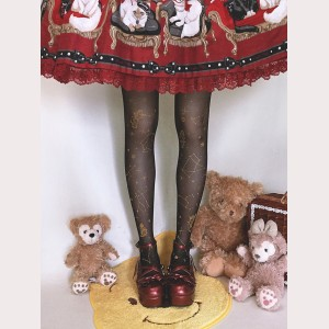 Ruby Rabbit Angel Horoscope Lolita Style Tights (RR05)
