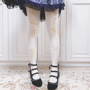 Ruby Rabbit Aquarium Lolita Style Tights (RR06)