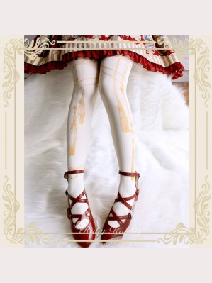 Ruby Rabbit Rope Classic Lolita Style Tights (RR08)