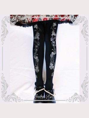 Ruby Rabbit Crown Of Thorns Lolita Style Tights (RR13)