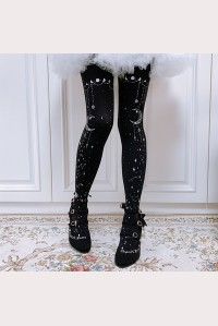 Ruby Rabbit Trickle Moon Classic Lolita Style Tights (RR16)