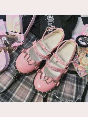 Sweet Punk Lolita Platform Shoes (GU12)