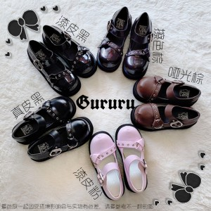 Witch Trainee Gothic Lolita Style Shoes by Gururu (GU13)