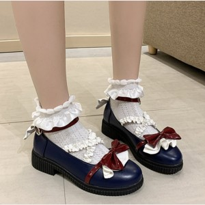 Snow White Sweet Lolita Shoes (OB01)