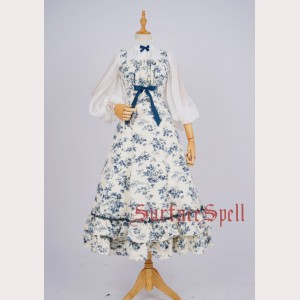 Surface Spell Bouquet Classic Lolita Dress OP (SP62)