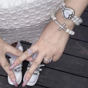 Gothic Lolita Style Watch & Bracelet Set (SC01)