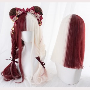Absurd Paradise Curly Or Straight Lolita Wig (AG22)