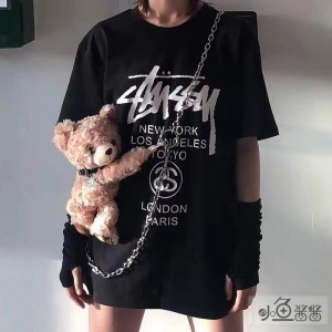 Punk Teddy Bear Shoulder Bag (LFB01)