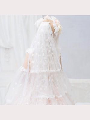 Flower Fairy Classic Lolita Style Veil (CH12A)