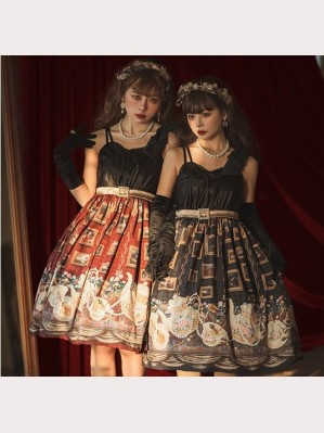 Ceylon Under The Moon Classic Lolita Dress JSK by Cat Highness (CH25)
