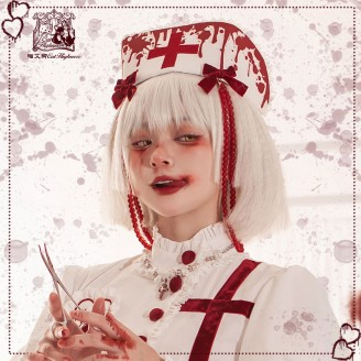 Halloween Bloody Nurse Lolita Accessories by Cat Highness (CH38A)