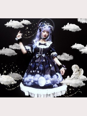 Diamond Honey Moon Night Fairy Tales Lolita Dress OP (DH199)